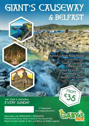 Gaby's Tour - Giant's Causeway & Belfast 300x424