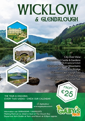 Gaby's Tour - Wicklow & Glendalough 300x424